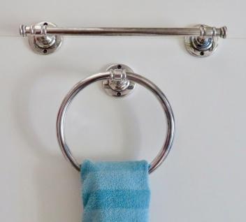 Handtuchhalter Silber Messing Modern Badezimmer Set Wc Toilette Bad Klassik
