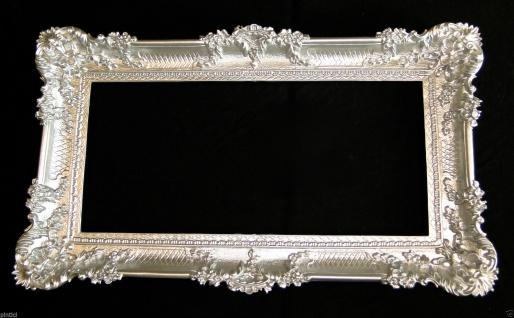 Bilderrahmen Silber Groß Barock 97x57 hochzeitsrahmen xxl Fotorahmen