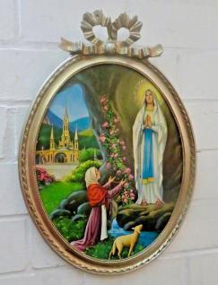 Heilige Religiöse Bilder Maria Lourdes 57x41 Madonna Jesus Christus Ikonen Bild - Vorschau 2