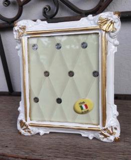Bilderrahmen Weiß Gold Barock 14x12 Fotorahmen Antik Rahmen Jugendstil Deko
