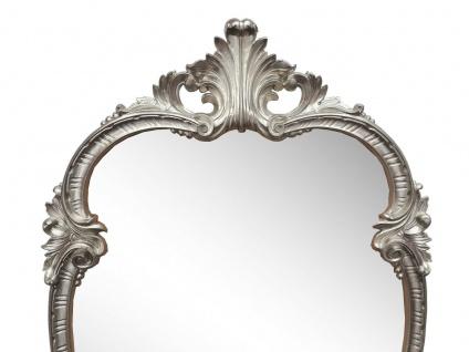WANDSPIEGEL Antik Silber Oval 99x55 Antik Spiegel Barock Friseurspiegel C410 NEU - Vorschau 2
