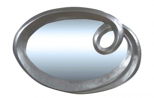 spiegel oval silber modern antik 125x95cm wandspiegel barock rahmen kaufen bei pintici keskin. Black Bedroom Furniture Sets. Home Design Ideas