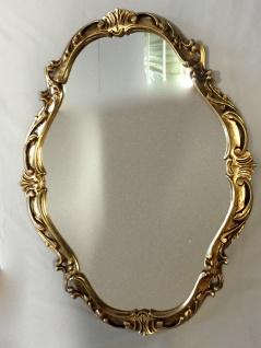 Barock Wandspiegel Gold Spiegel Antik Wanddeko Badspiegel Flurspiegel C26SV