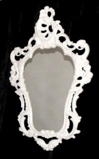 Rokoko Wandspiegel WEIß Retro Spiegel SHABBY50X76 ANTIK BAROCK Badspiegel 4