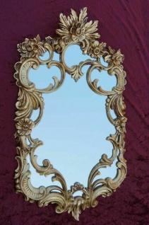 Wandspiegel Gold Barock Antik rokoko 60x35 c511 Flurspiegel Badspiegel Wanddeko