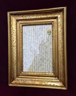 Bilderrahmen Fotorahmen Barock Gold Barockrahmen Antik 22x30 Rahmen C 430