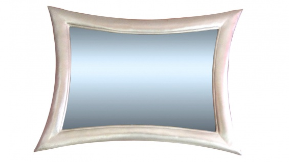 Wandspiegel Spiegel Modern Weiss115x85 Holzrahmen Retro Flurspiegel 023b - Vorschau 3