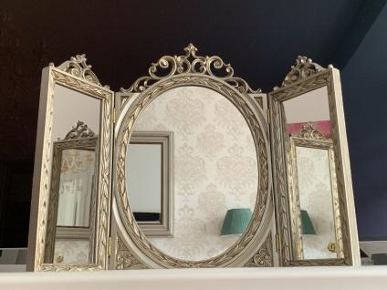 Wandspiegel Antik Silber Oval Rechteckig Badspiegel Barock 60X46 Schminkspiegel
