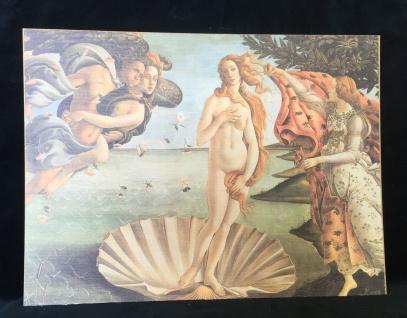 Wandbild Die Geburt der Venus Botticelli 30x40 Gemälde Kunstdruck Bild Italien