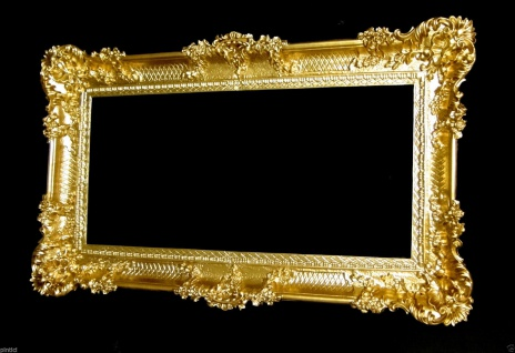 Bilderrahmen Barock Gold Hochzeitsrahmen Antik 96x57 Bilderrahmen Groß mit Glas