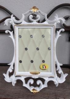 Bilderrahmen Weiß Gold Barock 15x21 Fotorahmen Antik Rahmen Jugendstil Deko - Vorschau 4