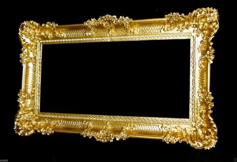 Bilderrahmen gold Barock antik 96x57 Bilderrahmen Groß Fotorahmen 103074