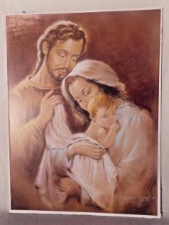 Heilige Bild Jesus Baby 40x30 Maria Josef Jesus Geburt Religiöse Bilder Ikonen