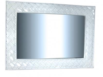 Wandspiegel Weiß Groß 120x90 Mirror Spiegel Badspiegel SPIEGEL