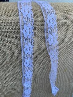 10 Meter Spitzenborte tüllspitze Weiß 25mm Tüllband Spitze Hochzeitsdeko Angebot - Vorschau 4