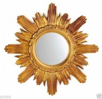 Wandspiegel Barock Sonne Spiegel Rund Prunk Sonnenspiegel Rokoko
