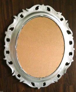 Wandspiegel Oval AltSilber Wandspiegel Barock Oval 68x58 Spiegel Oval Badspiegel - Vorschau 4
