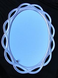 Wandspiegel Spiegel Silber Gross Oval- Badspiegel 120 X 90 020g Flurspiegel - Vorschau 1