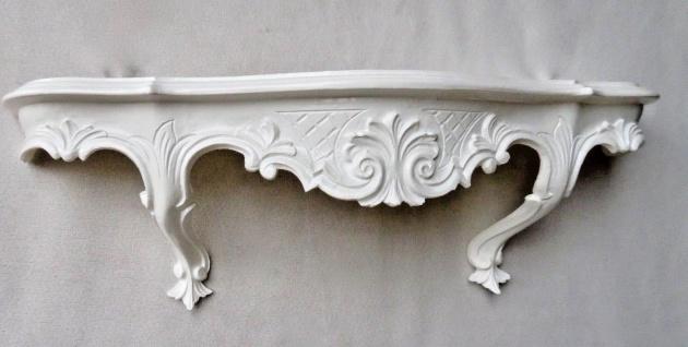 Wandkonsole Antik barock Konsole 49x17 Spiegelkonsole Hängekonsole Telefontisch - Vorschau 4