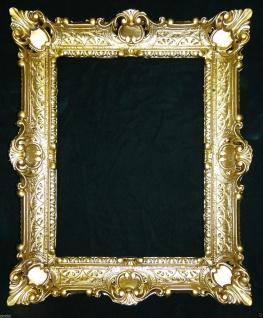 Bilderrahmen GOLD barock 56x46 Fotorahmen Antik Rahmen Rechteckig 30x40 Neu3049