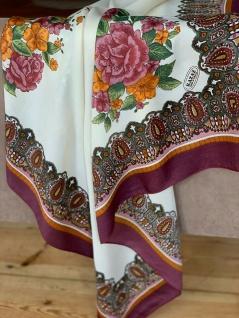 Schal Foulard Tücher Kopftuch 115 x115 Halstuch Schultertuch Hijab Angebot Sale