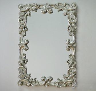 gro er barock wandspiegel ornament 70x100 spiegel silber flurspiegel kaufen bei pintici keskin. Black Bedroom Furniture Sets. Home Design Ideas