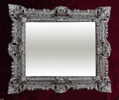 Bilderrahmen Antik Silber Rechteckig 45x37 Foto Spiegelrahmen Gemälderahmen