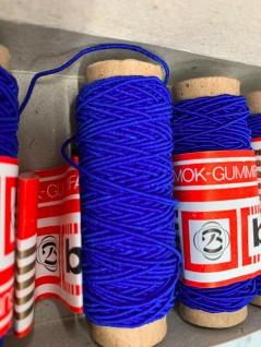 60 Meter Gummifaden Gummilitze Smok Gummifaden Mundbedeckungs Bedarf Nähgarn - Vorschau 2