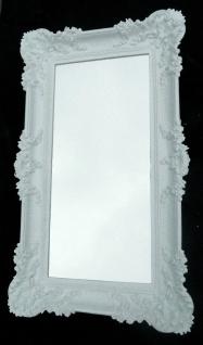 Badspiegel Weiß Wandspiegel Barock Spiegel 96x57 Spiegel jugendstil Retro