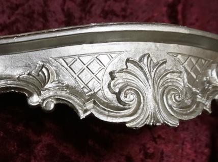 Wandkonsole/Spiegelkonsolen/Wandregal BAROCK ANTIK Silber B:49 x T:13xH:21 cp51 - Vorschau 2