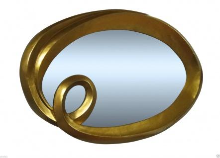 GROSS SPIEGEL Gold 125x95cm WANDSPIEGEL Gold BAROCK RAHMEN FRISEURSPIEGEL
