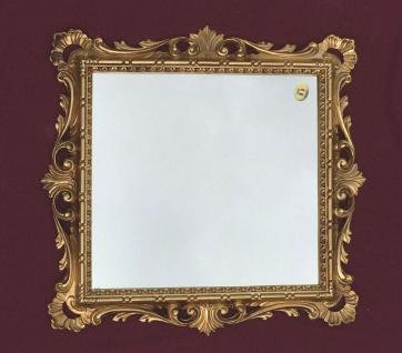 Wandspiegel Barock Gold Badspiegel 38x36 Antik Schminkspiegel jugenstil C533