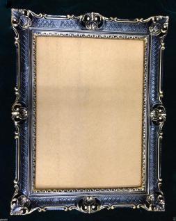 Bilderrahmen Barock Schwarz Gold Fotorahmen Spiegelrahmen Antik 90x70 xl Rahmen