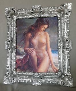 Gemälde Akt Erotik Damen Bild Sexy Frauen nackte Frau Damen 45x38 Deko Bild D3