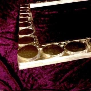 Bilderrahmen Holz Antik Gold 85x45 Fotorahmen Spiegelrahmen Lackiert Shabby - Vorschau 5