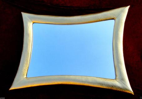 Wandspiegel Friseurspiegel Gold115x85 Holzrahmen Flurspiegel Retro Spiegel Groß