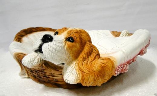 Hunde Figur Groß DEKO HUND 40x13x35 AUS KUNSTSTEIN MADE IN ITALY