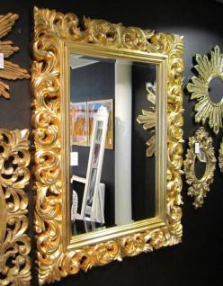 Wandspiegel Flurspiegel 120x90 Barock Gold Spiegel- Ornament- Modern Antik