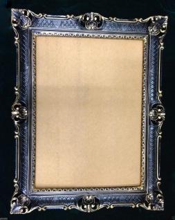 Fotorahmen Bilderrahmen Schwarz Gold Antik 90x70 Barock Gemälderahmen - Vorschau 3