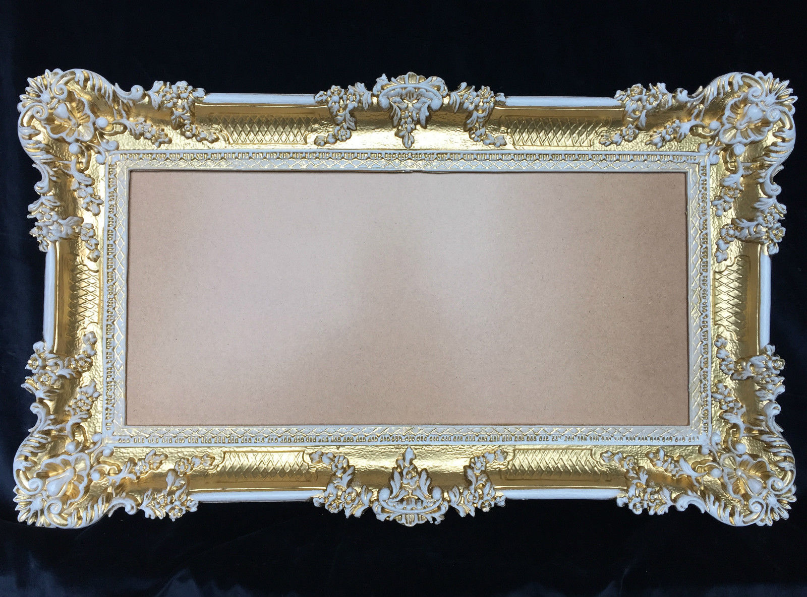 bilderrahmen barock gold wei hochzeitsrahmen 96x57. Black Bedroom Furniture Sets. Home Design Ideas
