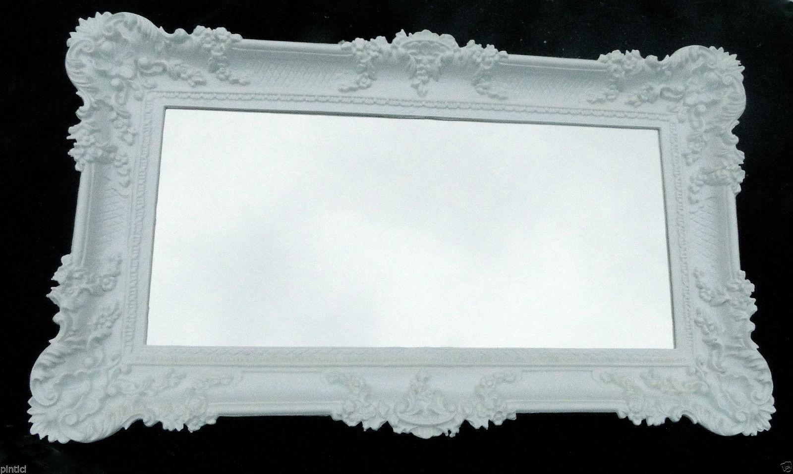 Bilderrahmen Weiß groß Hochzeitsrahmen Antik 96x57 Gemälderahmen ...