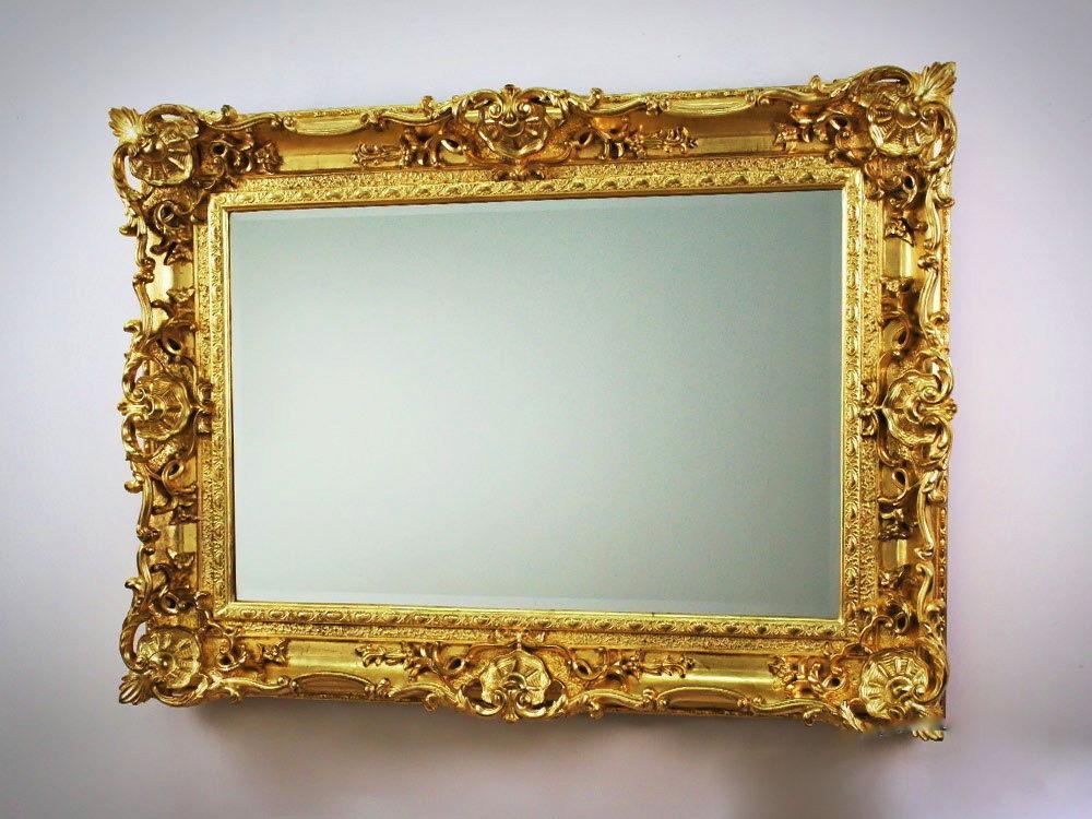 barock spiegel gold oval – Dekoration Bild Idee