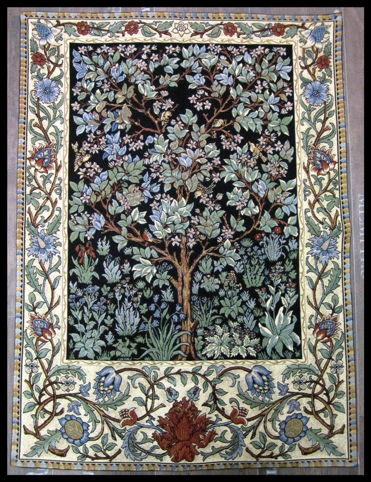 wandteppich gobelin 90cm x 70cm lebensbaum gustav klimt neu the tree of life neu kaufen bei. Black Bedroom Furniture Sets. Home Design Ideas
