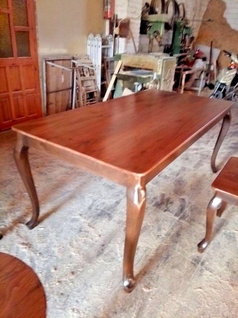 Design Esszimmertisch 90x180 Walnussbaum Esstisch Holz Esszimmer Tisch  Handmade 1 ...