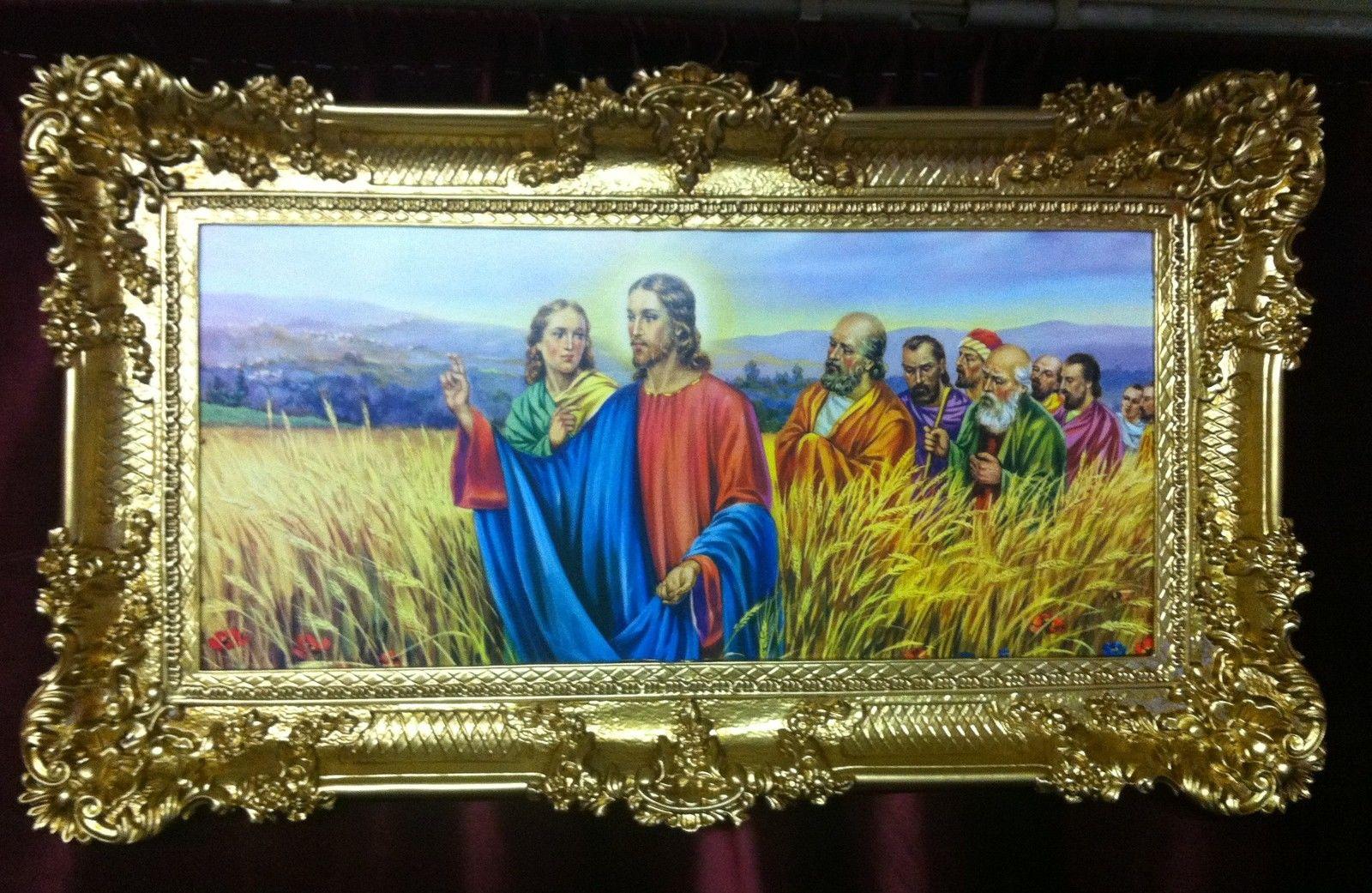 Jesus Christus Bild Heilige Bild Gerahmte Gemälde Bilder Rahmen ...