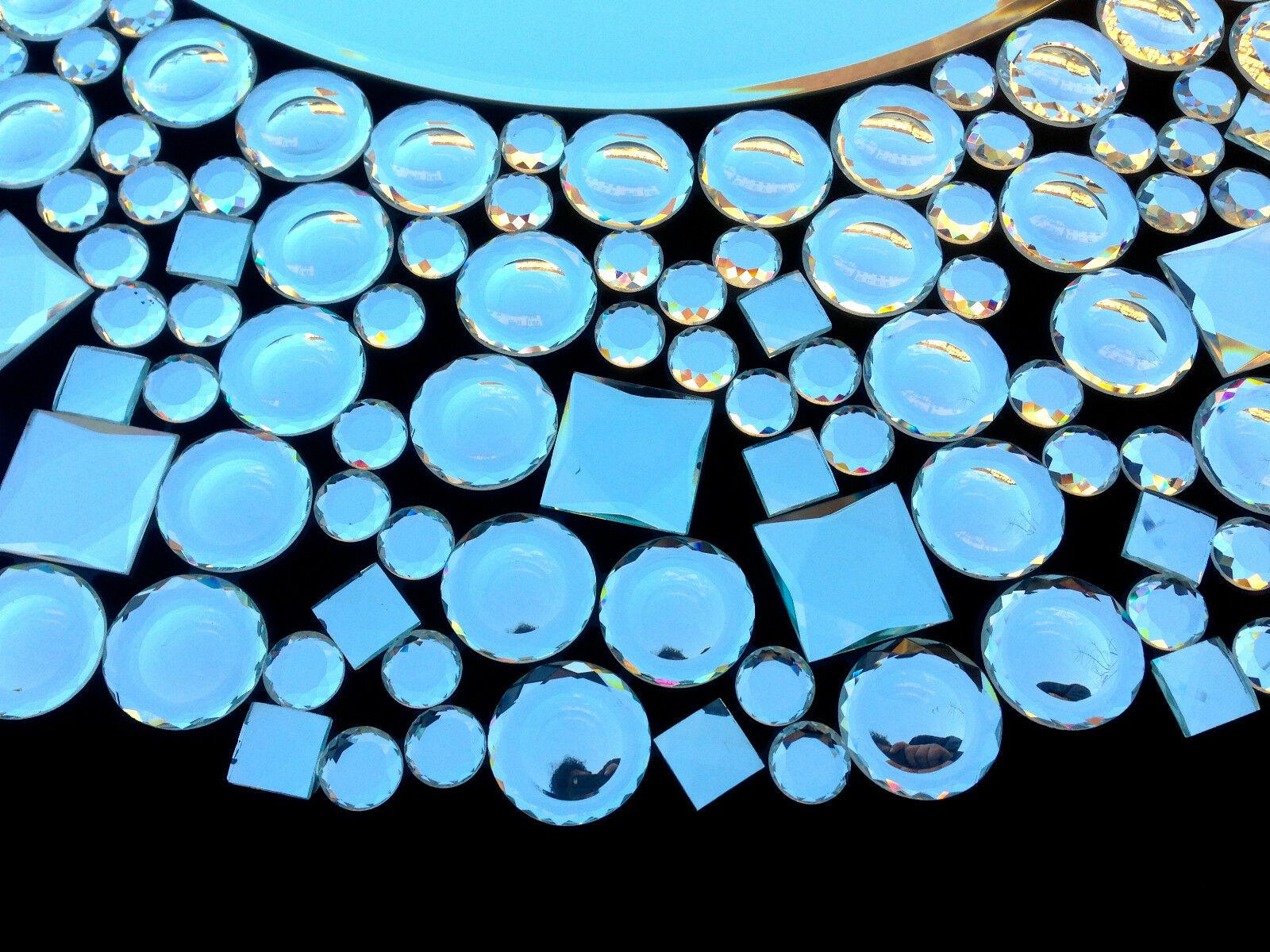 wandspiegel rund xxl glas modern flurspiegel 90x90 spiegel ohne rahmen gro kaufen bei pintici. Black Bedroom Furniture Sets. Home Design Ideas