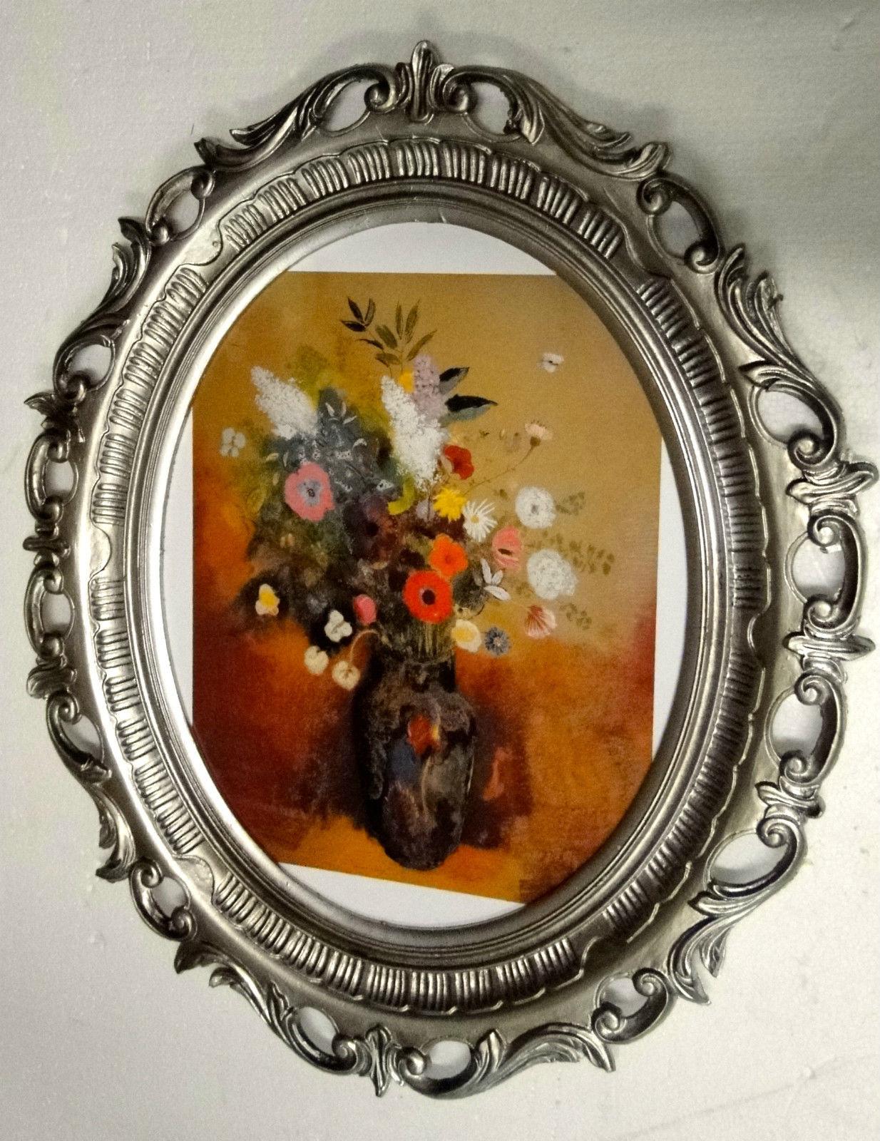 Van Gogh Gemälde Blumen Bilder Blumen Vase Bilderrahmen xxl Gold ...