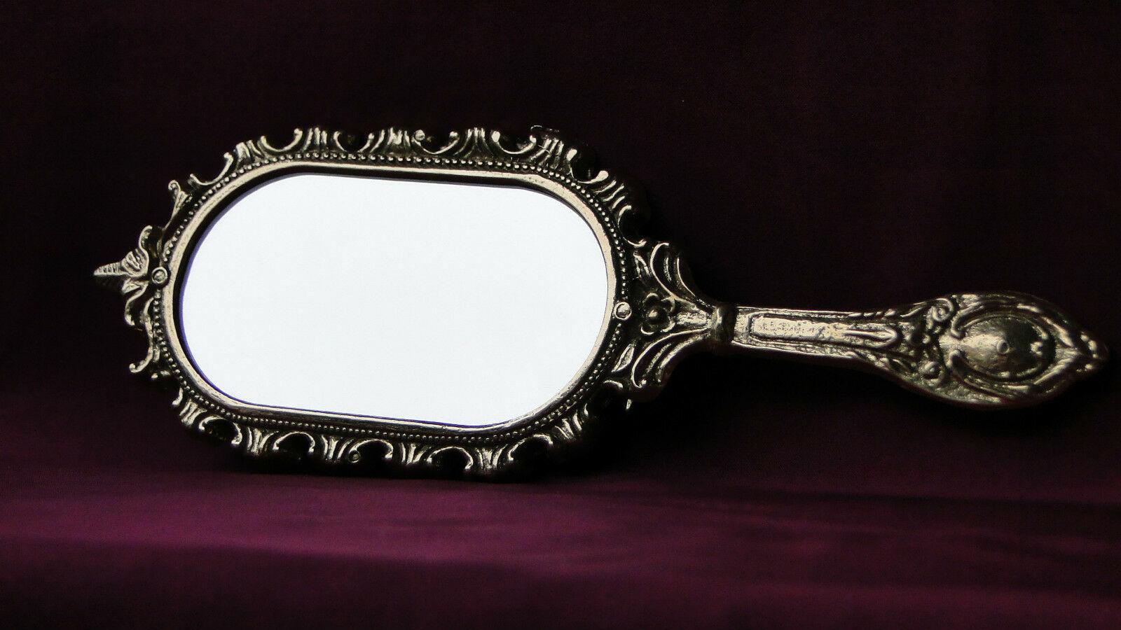 Make Up Spiegel : Handspiegel kosmetik taschen make up spiegel messing gold
