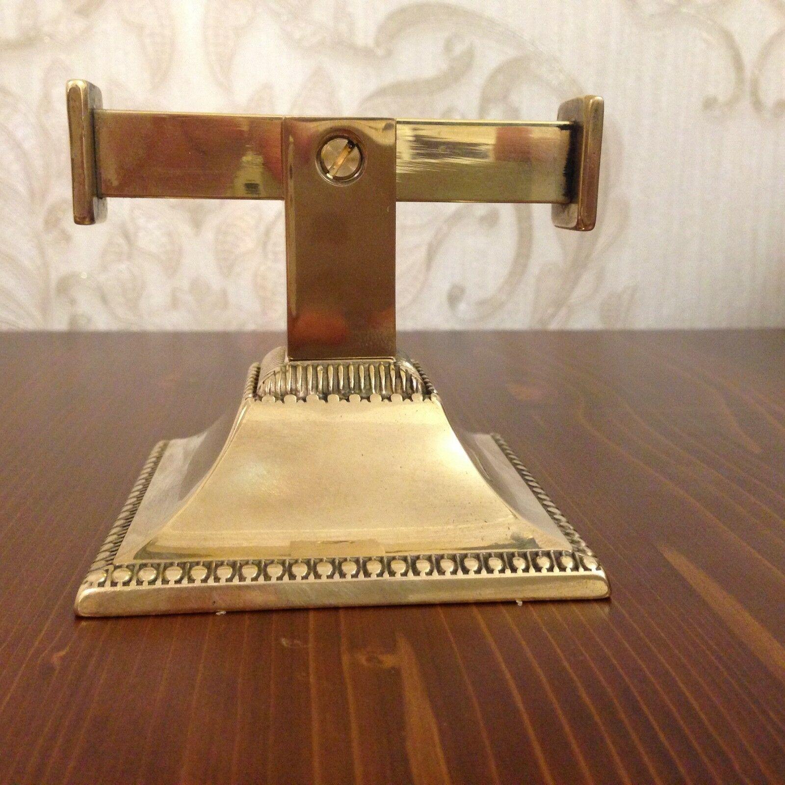 Handtuchhalter gold Messing Barock Badezimmer Set Wc Toilette Bad ...