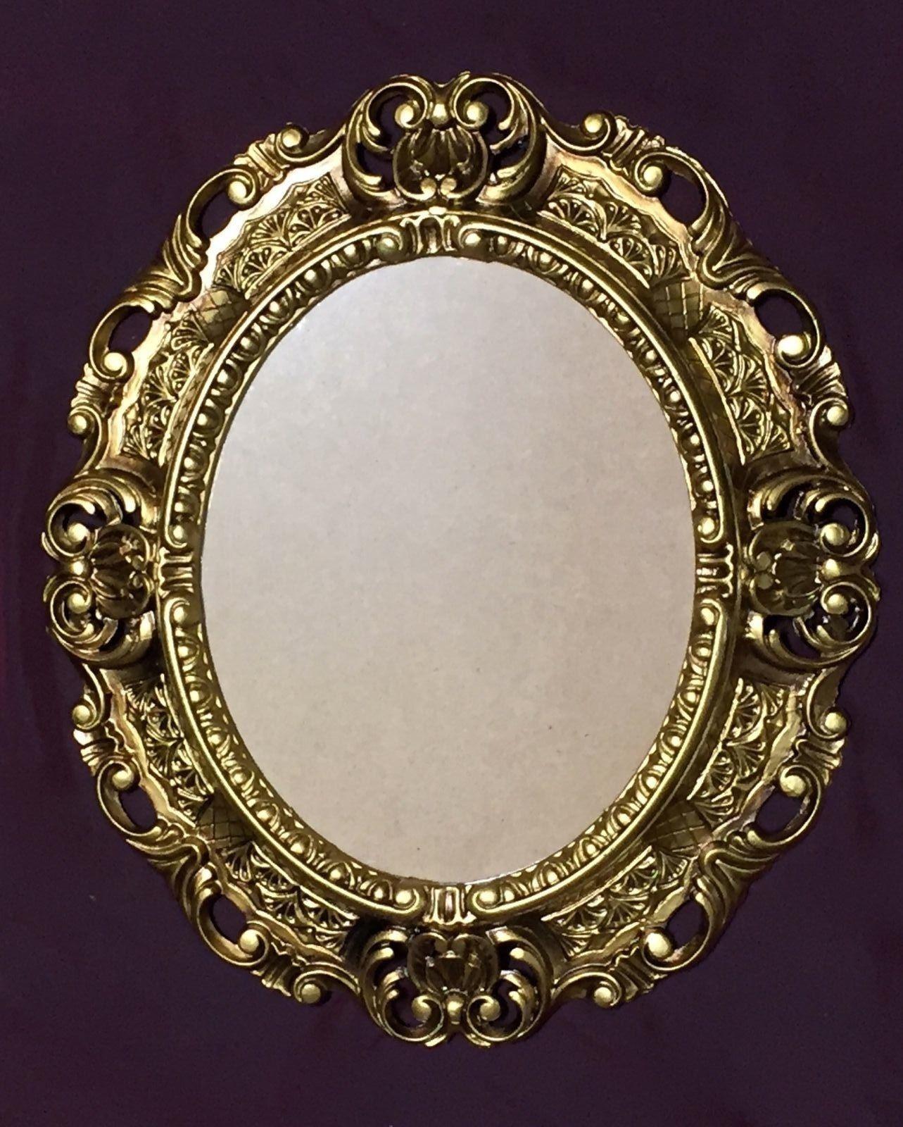 Bilderrahmen Gold Oval Antik Bilderrahmen Mit Glas Fotorahmen Rahmen ...